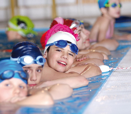 Group lessons little fishes swimming school for Little fishes swim school