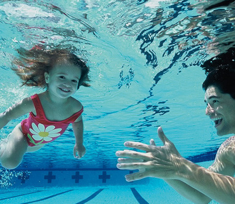 Private lessons little fishes swimming school for Little fish swimming